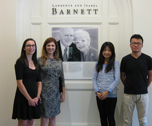 2015-2016 Barnett Fellows