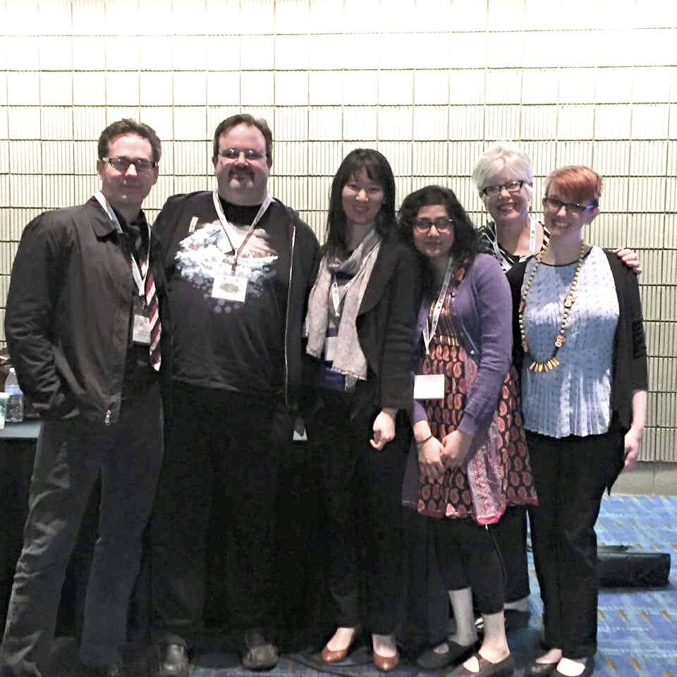 Prof. Debbie Smith-Shank and PhD Students at NAEA 2015