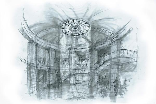 Assemblage image of rotunda