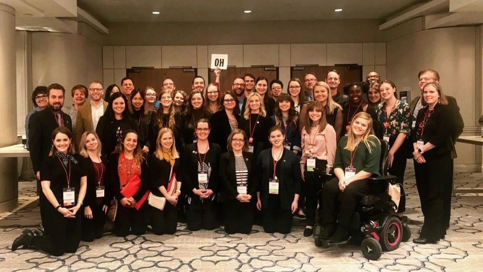 AAEP students attend the 2018 Arts Advocacy Day in Washington, DC